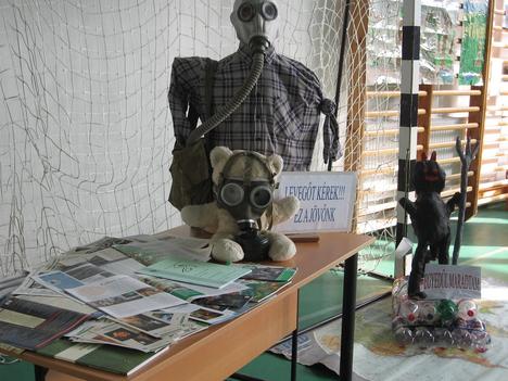 környezetvédelmi konferencia-diákok alkotása