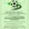 Plakát a labdarúgó tornához