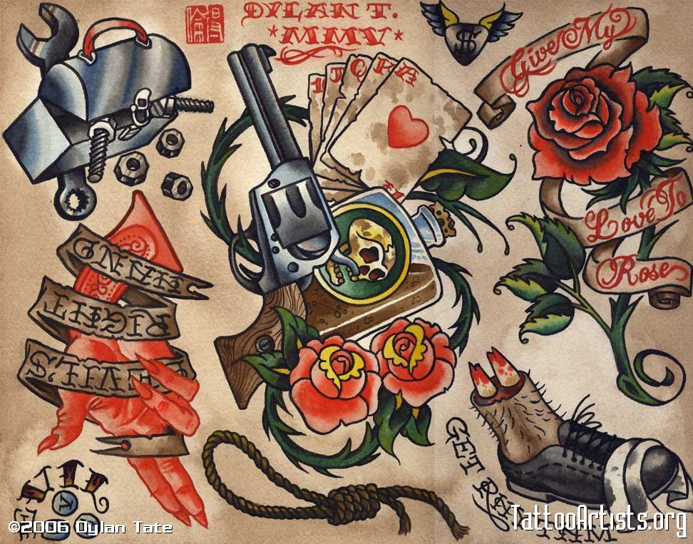 Tattoo old school japan
