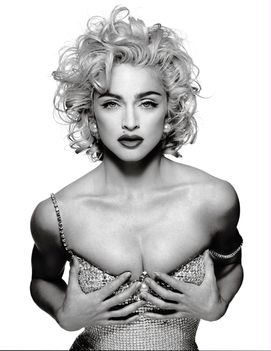 1991 - Madonna by Patrick Demarchelier for Glamour Cover -