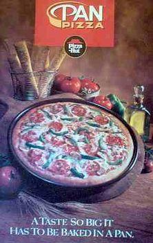 A Pizza Hut régi reklámja
