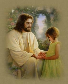 jézus  és a kislány