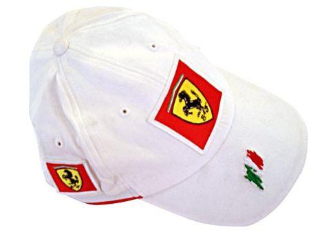Ferrari csapat baseball sapka fehér