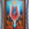 A felszabadulás pillanata 58 cm x 40 cm akril cseresznyefa