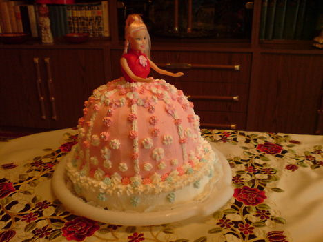 Barbi-torta 2