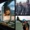 Jobbra lent Norvég ENSZ katona Szarajevóban