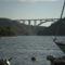 A krka folyón átívelő híd.