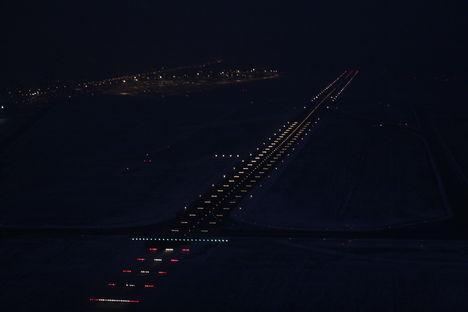 futópálya fények