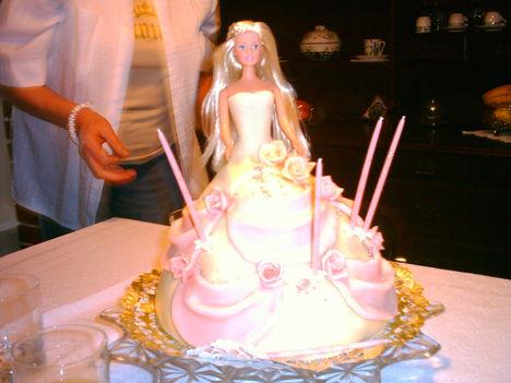 Barbi baba torta.