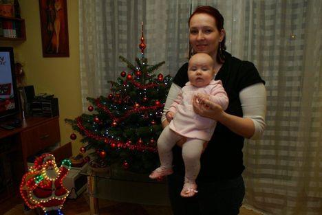 angyalka és a karácsonyfa