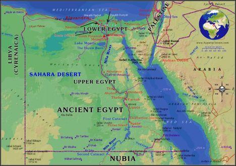 Egyiptomi térképek 2