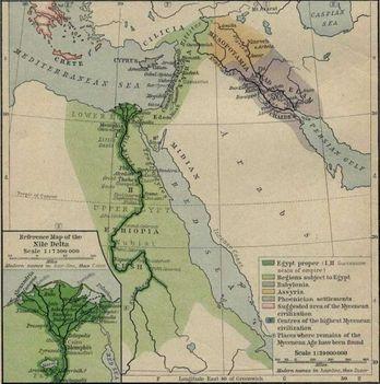 Egyiptomi térképek 3