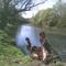 Ipoly folyó áprilisban