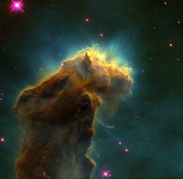 Star Birth Clouds in M16