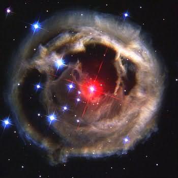 V838 Moncerotiz Star