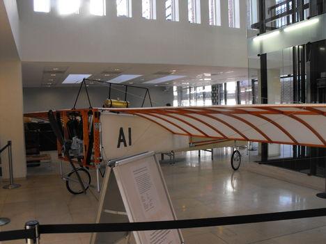a 100 éves első magyar repülőgép replikája