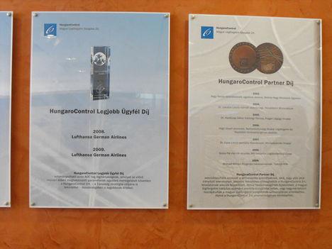 a HungaroControl díjai