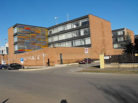 a HungaroControl épülete
