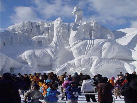 Alaszkai jég fesztivál