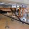 Az első magyar repülőgép replikája a HungaroControl aulájában