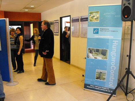 HungaroControl aula kiállítása