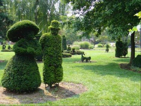 Sövény szobrászat