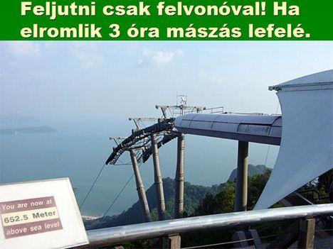 Egyoszlopos híd Malajziában  4
