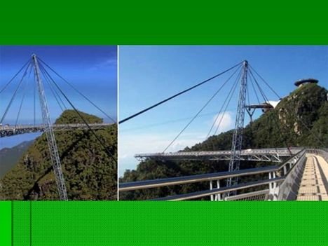 Egyoszlopos híd Malajziában  6