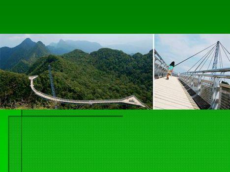 Egyoszlopos híd Malajziában  9