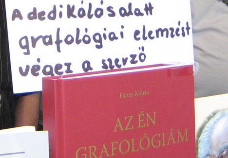 Füzes Mária - Az én grafológiám - könyv bemutató
