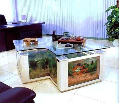 Akvárium asztal