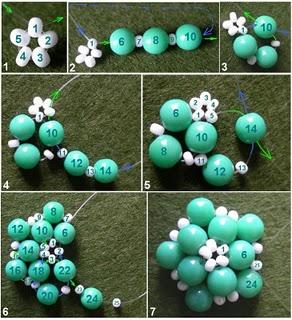 Tavaszi gömb=Virágos gyöngybogyó 8