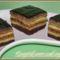 Csíkos (zebra) sütemény