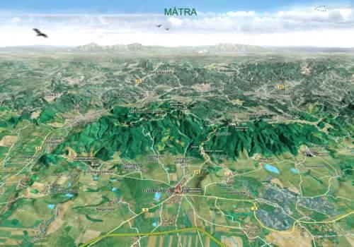 mátra domborzati térkép Túra: Mátra (kép) mátra domborzati térkép