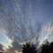 a felhő vonulása