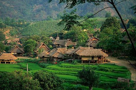 Mai Chau - Vietnám 2