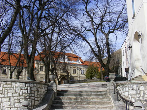 Sümeg, Püspöki palota
