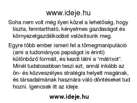 www.ideje.hu