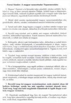 Ősi 10 Parancsolat-Forrai