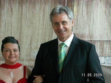 Cecilia es Asboth Jozsef /DunaTv -Kivansagkosar Müsorvezetöje