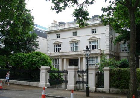 Londoni rezidencia