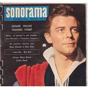 """Halála utáni címlapon:""""G.P.mindig élni fog"""", 1959.decemberi szám"""