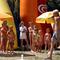 Balaton, gyerekanimáció a strandon