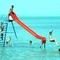Balaton, strandoló gyerekek