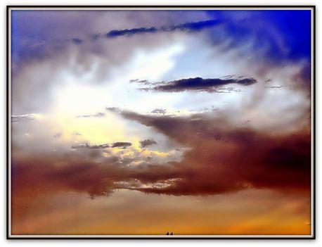 Színjáték  az  égen