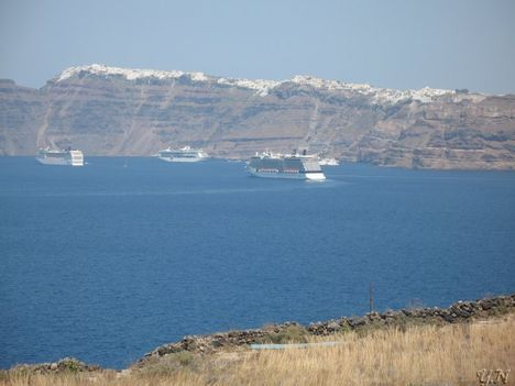 Santorini ,Égei-tenger