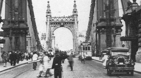 Erzsébet híd 0 30 - as évekből