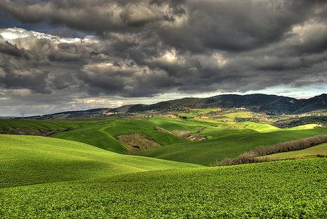 Toscana tájkép