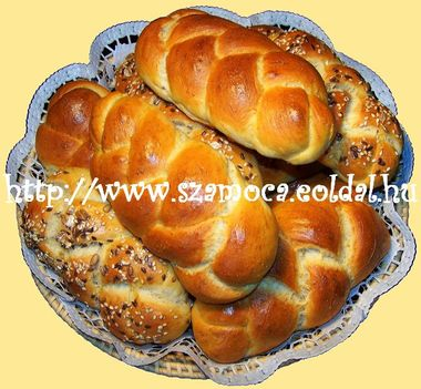 SÓS KALÁCS szendvicshez, sonkához, tojáshoz