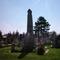 Emlékmű a temetőben